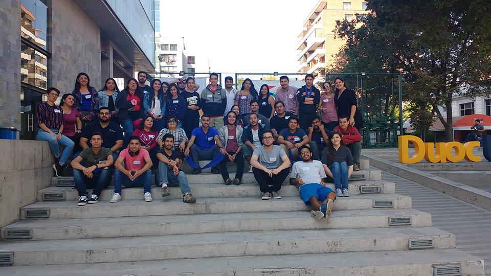 Fundación Portas realiza Escuela de tutores PACE en DUOC – UC Región Metropolitana.