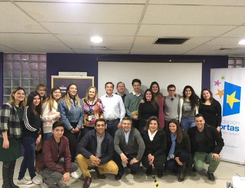 """Fundación Portas y Antalis lanzan programa """"Tu aporte para el Futuro""""."""
