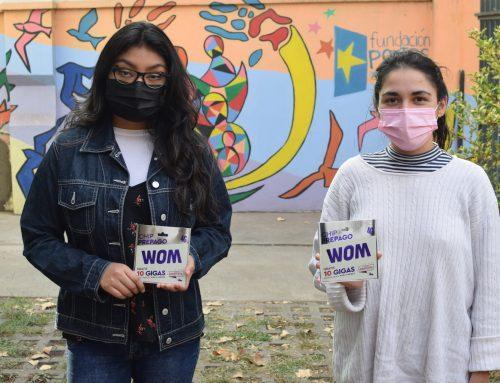 Fundación Portas recibe donación de WOM